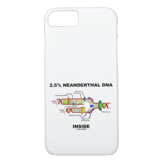 Capa iPhone 8/ 7 2,5% ADN do Neanderthal dentro do humor do geek da