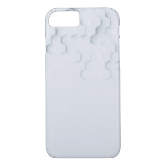 Capa iPhone 8/ 7 3D hexágonos - Iphone 8/7 de caso