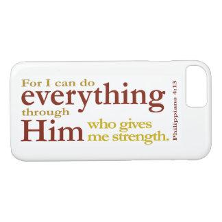 Capa iPhone 8/ 7 4:13 dos Philippians