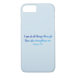 Capa iPhone 8/ 7 4:13 dos Philippians - eu posso fazer todas as