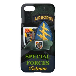 Capa iPhone 8/7 5a guerra do nam de Vietnam das boinas verdes de