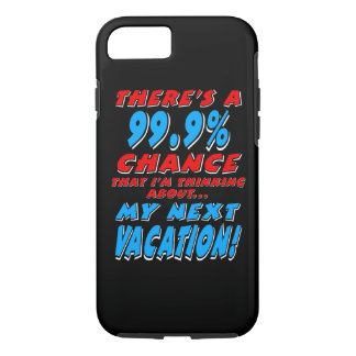 Capa iPhone 8/ 7 99,9% As PRÓXIMAS FÉRIAS (brancas)