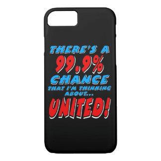 Capa iPhone 8/ 7 99,9% UNIDO (branco)