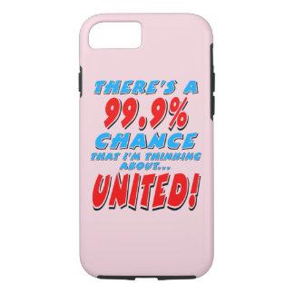 Capa iPhone 8/ 7 99,9% UNIDO (preto)