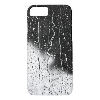 Capa iPhone 8/ 7 A água deixa cair azulejos finos cristalinos