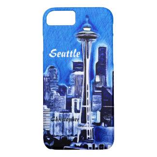 Capa iPhone 8/ 7 A agulha do espaço - Seattle, Washington