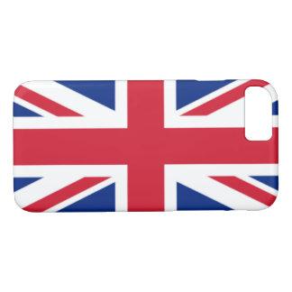 Capa iPhone 8/ 7 A bandeira do Reino Unido
