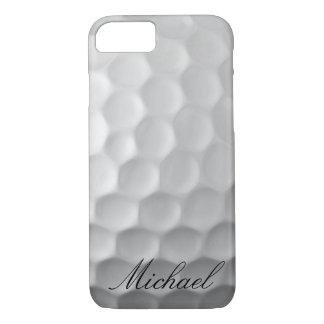 Capa iPhone 8/ 7 A bola de golfe personalizada ondeia o teste