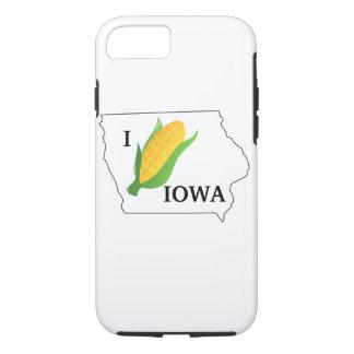 Capa iPhone 8/ 7 A camisa do milho de Iowa foleiro gira fora do