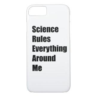 Capa iPhone 8/ 7 A ciência ordena tudo em torno de mim