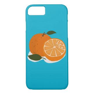 Capa iPhone 8/ 7 A comida - laranja