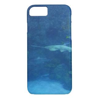 Capa iPhone 8/ 7 A fim de que não a natação do tubarão