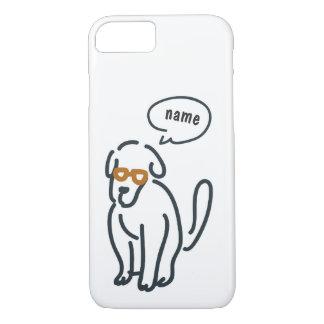 Capa iPhone 8/ 7 A lápis desenho - doggi de fala