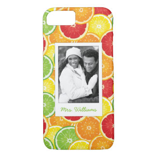 Capa iPhone 8/ 7 A laranja, a toranja, o limão & o limão  