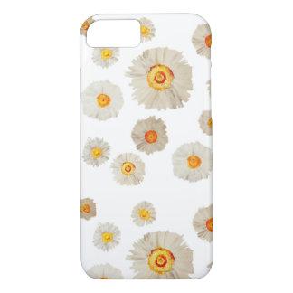 Capa iPhone 8/ 7 A margarida branca floresce o iPhone 8/7 de Apple,