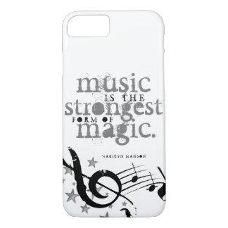 Capa iPhone 8/ 7 A música é mágica!