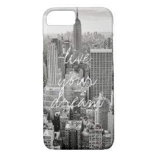 Capa iPhone 8/ 7 A Nova Iorque NYC vive seu viagem ideal