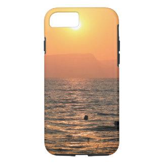Capa iPhone 8/ 7 A opinião do mar de Galilee durante o grupo do sol