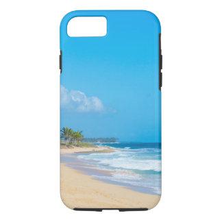 Capa iPhone 8/ 7 A praia bonita do oceano, doma ondas & o céu azul