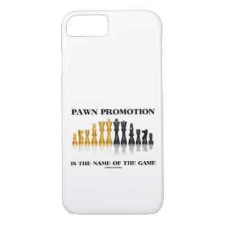Capa iPhone 8/ 7 A promoção do penhor é o nome do humor da xadrez