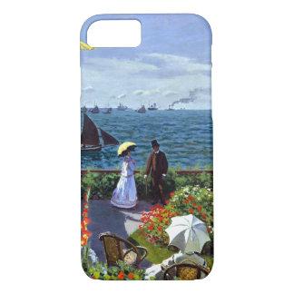 Capa iPhone 8/ 7 À Sainte-Adresse de Jardin por Claude Monet