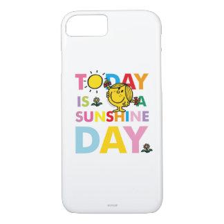 Capa iPhone 8/ 7 A senhorita pequena Luz do sol | é hoje um dia da