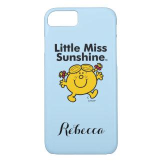 Capa iPhone 8/ 7 A senhorita pequena pequena Luz do sol da