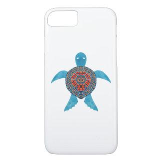Capa iPhone 8/ 7 A tartaruga de mar tribal