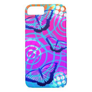Capa iPhone 8/ 7 A vibração da borboleta
