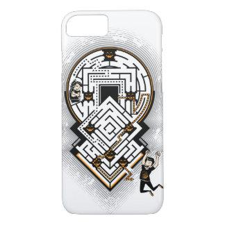Capa iPhone 8/ 7 A vida é como um labirinto do medo