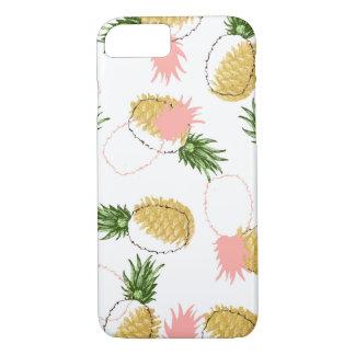 Capa iPhone 8/ 7 Abacaxis & cones do pinho
