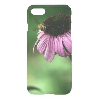 Capa iPhone 8/7 Abelha na flor