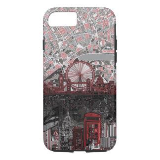Capa iPhone 8/ 7 abstrato da skyline de Londres
