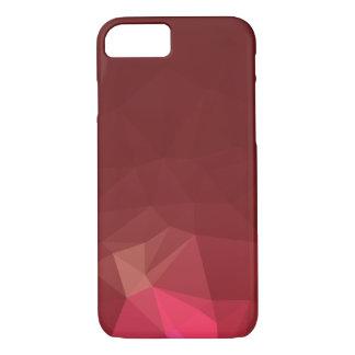 Capa iPhone 8/ 7 Abstrato & design geométrico moderno - escarlate