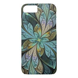 Capa iPhone 8/ 7 Abstrato Glace de turquesa de Chanteuse do La