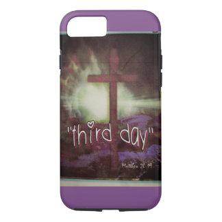 Capa iPhone 8/ 7 Acessórios rústicos cristãos do telefone da páscoa