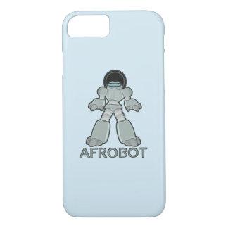 Capa iPhone 8/ 7 Afrobot - robô com Afro