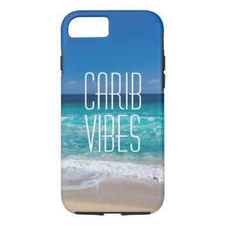 Capa iPhone 8/ 7 Água tropical de turquesa da praia das impressões