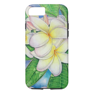 Capa iPhone 8/ 7 Aguarela do Plumeria