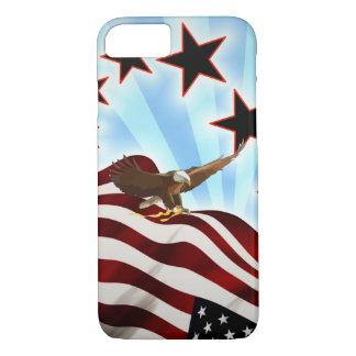 Capa iPhone 8/ 7 Águia americana