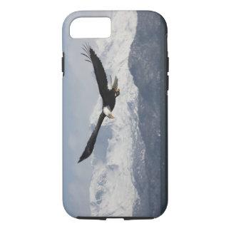 Capa iPhone 8/ 7 Águia americana em vôo, leucocephalus do