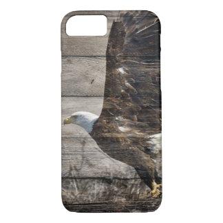 Capa iPhone 8/ 7 Águia americana patriótica do americano dos EUA do