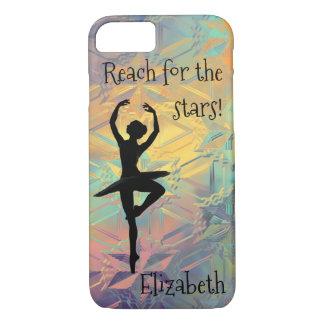 Capa iPhone 8/ 7 Alcance da bailarina para as estrelas
