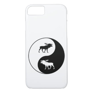 Capa iPhone 8/ 7 Alces de Yin Yang