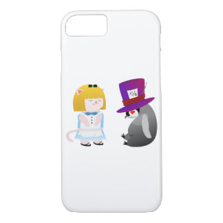 Capa iPhone 8/ 7 Alice e Hatter