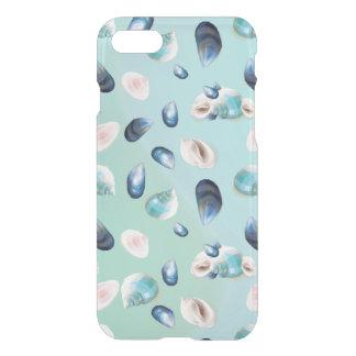 Capa iPhone 8/7 Aloha o mar Shell do SeaShell peroliza o teste