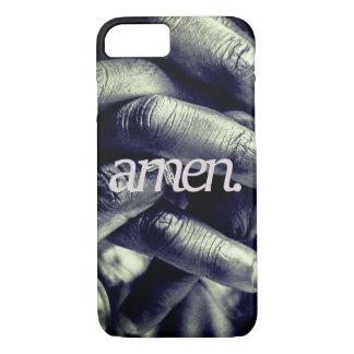 Capa iPhone 8/ 7 amen. por todo o lado no impressão