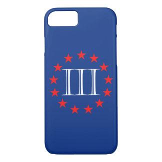 Capa iPhone 8/ 7 Americano três por cento