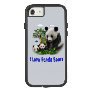 Capa iPhone 8/ 7 amor da panda