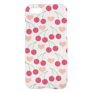 Capa iPhone 8/7 Amor das cerejas de coração